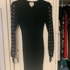 Dresses & Skirts - Silence+noise black body con dress